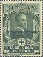 """[Red Cross - Not issued Spanish Stamps Overprinted """"ZONA PROTECTORADO ESPANOL"""", type S]"""