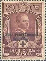 "[Red Cross - Not issued Spanish Stamps Overprinted ""ZONA PROTECTORADO ESPANOL"", Typ S1]"
