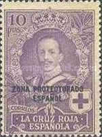 "[Red Cross - Not Issued Spanish Stamps Overprinted ""ZONE PROTECTORADO ESPANOL"", Typ T1]"