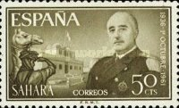 [The 25th Anniversary of the Nomination of General Franco as Chief of State, Typ BW]