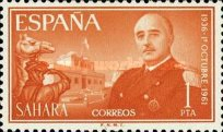 [The 25th Anniversary of the Nomination of General Franco as Chief of State, Typ BW1]