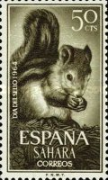 [Stamp Day - Squirrels - Coated Paper, Typ CR]