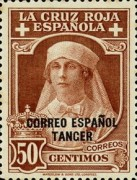 [Red Cross - Not Issued Stamps Overprinted