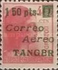 [Airmail - Spanish Stamps Surcharged & Overprinted