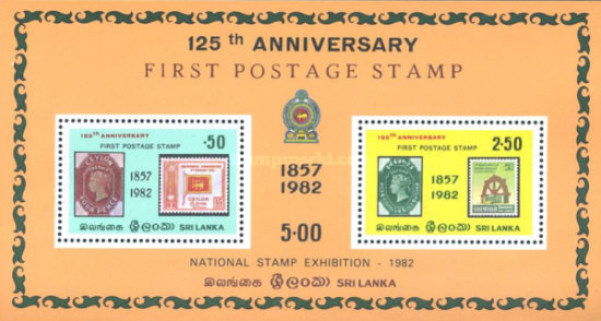 [The 25th Anniversary of First Postage Stamps, Typ ]