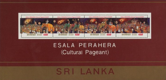 [Esala Perahera, Procession of the Tooth, Kandy, Typ ]
