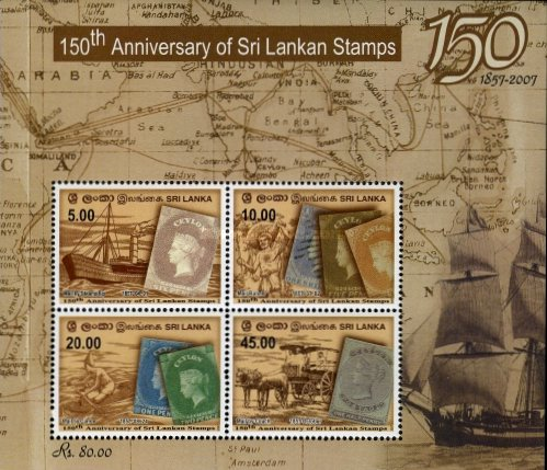 [The 150th Anniversary of the First Sri Lanka (Ceylon) Stamp, Typ ]
