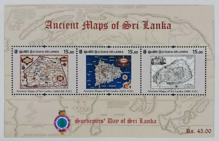 [Ancient Maps of Sri Lanka, Typ ]