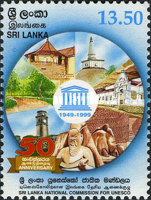 [The 50th Anniversary of Sri Lankan National Commission for UNESCO, Typ ACS]