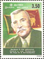 [The 50th Anniversary of the Death of D. Senanayake, First Sri Lankan Prime Minister, 1884-1952, Typ AGM]