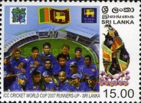 [Sri Lanka - Cricket World Cup Runners Up, type ARM]