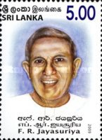 [The 100th Anniversary of the Birth of F.R. Jayasuriya, 1909-1984, Typ AVE]