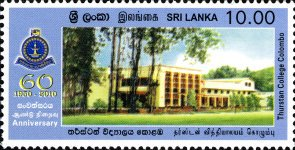 [The 60th Anniversary of the Thurstan College - Colombo, type AWS]