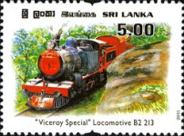 [The 25th Anniversary of Viceroy Special Steam Train, Typ AYX]