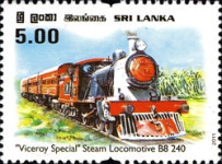 [The 25th Anniversary of Viceroy Special Steam Train, Typ AYY]