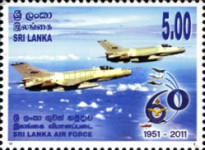 [The 60th Anniversary of the Sri Lanka Air Force, Typ AZE]