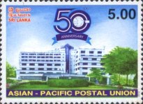 [The 50th Anniversary of the APPU - Asian-Pacific Postal Union, Typ BBF]