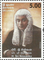 [Kings Counsel - H. Sri Nissanka, 1898-1954, Typ BFA]