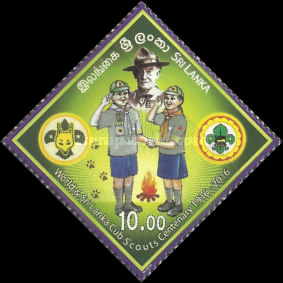 [The 100th Anniversary of the World & Sri Lanka Cub Scouts, Typ BIO]