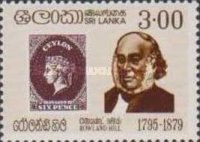 [The 100th Anniversary of the Death of Sir Rowland Hill, 1795-1879, Typ BV]