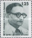 [The 80th Anniversary of the Birth of A. Ratnayake, Politician, Typ CK]