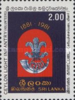 [The 100th Anniversary of of Sri Lanka Light Infantry, Typ DM]