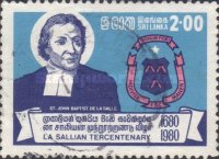 [The 300th Anniversary of De La Salle Brothers, Religious Order of the Brothers of the Christian Schools, Typ DQ]