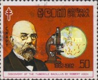 [The 100th Anniversary of Robert Koch's Discovery of Tubercle Bacillus, Typ FI]