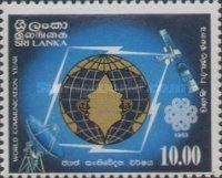 [The 125th Anniversary of Telecommunications in Sri Lanka and World Communications Year, Typ GL]