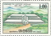 [The 100th Anniversary of of Colombo Tea Auctions, Typ HG]
