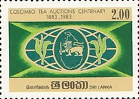 [The 100th Anniversary of of Colombo Tea Auctions, Typ HH]