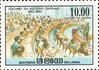 [The 100th Anniversary of of Colombo Tea Auctions, Typ HJ]