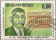 [The 100th Anniversary of the Birth of D. S. Senanayake, Former Prime Minister, 1884-1952, Typ IN]