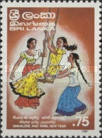 [Sinhalese and Tamil New Year, Typ MG]