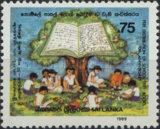 [The 10th Anniversary of Free Distribution of School Text Books, Typ OW]