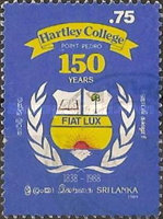 [The 150th Anniversary of Harley College, Point-Pedro 1988, Typ PL]