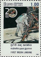 [The 20th Anniversary of First Manned Landing on Moon, Typ QF]