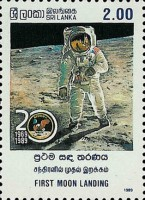 [The 20th Anniversary of First Manned Landing on Moon, Typ QG]