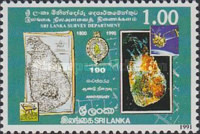 [The 190th Anniversary of Sri Lanka Survey Department, Typ TC]