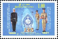 [The 125th Anniversary of Sri Lanka Police Force, Typ TD]