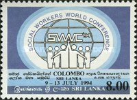 [The 13th International Federation of Social Workers World Conference, Colombo, Typ WV]