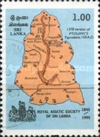 [The 150th Anniversary of Royal Asiatic Society of Sri Lanka, Typ XW]