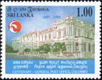 [The 100th Anniversary of General Post Office, Colombo, Typ YB]