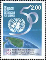 [The 50th Anniversary of United Nations, Typ YE]