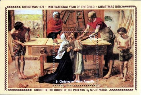 [International Year of the Child - Christmas, Typ ]