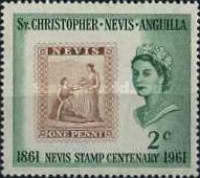 [The 100th Anniversary of the Nevis Stamp, Typ AE]