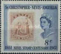 [The 100th Anniversary of the Nevis Stamp, Typ AF]