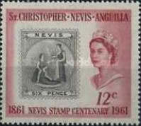 [The 100th Anniversary of the Nevis Stamp, Typ AG]