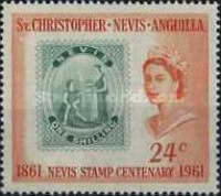 [The 100th Anniversary of the Nevis Stamp, Typ AH]