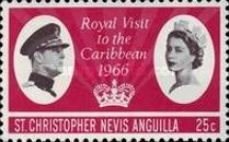 [Royal Visit to the Caribbean, Typ BD1]